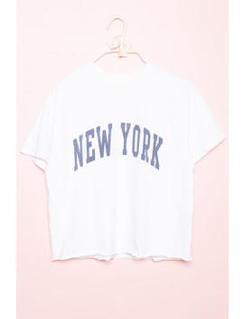 Aleena New York Top by Brandy Melville