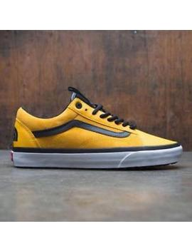 Vn0 A348 Gqwi Vans X The North Face Men Old Skool Mte Dx Tnf / Yellow / Black by Vans