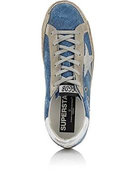 Women's Superstar Denim Sneakers by Golden Goose