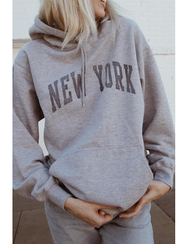 Christy New York Hoodie by Brandy Melville
