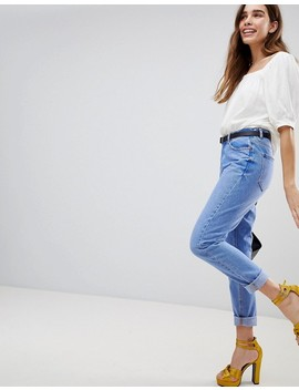 New Look Bright Blue Straight Leg Jean by New Look