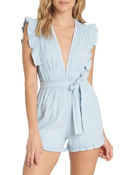 Sunny Garden Chambray Romper by Billabong