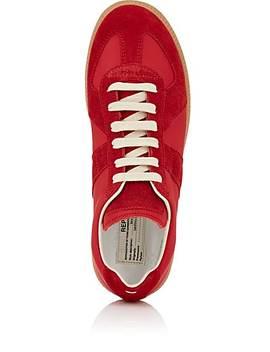 "Women's ""Replica"" Leather & Suede Sneakers by Maison Margiela"