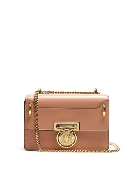 Coin Embellished Leather Bag by Balmain