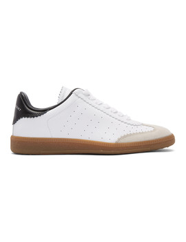 White Bryce Vintage Sneakers by Isabel Marant