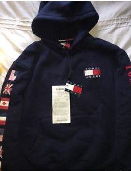 Men's Tommy Hilfiger Jeans Hoodie New Season Size Xs£110 Dsquared Fendi Moschino by Tommy Hilfiger