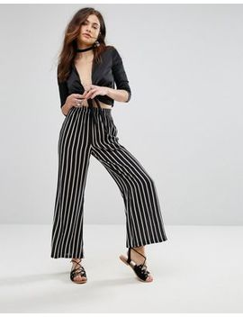 Rock & Religion Stardust Stripe Flared Pant by Trousers