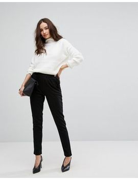 Vila Ruffle Peg Trousers by Vila