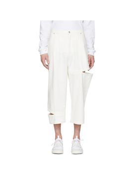 White Perspective Bri Bri Jeans by Perks And Mini
