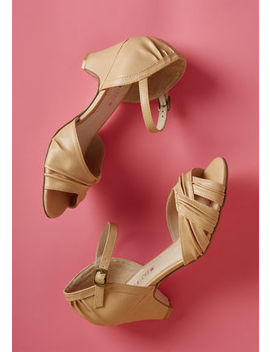 Chelsea Crew Makin' Moves Mid Height Heel In Beige Chelsea Crew Makin' Moves Mid Height Heel In Beige by Chelsea Crew