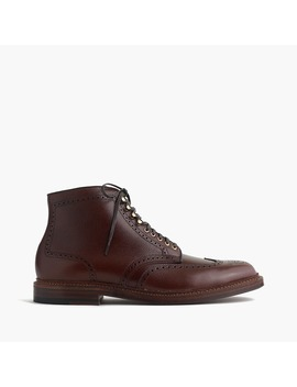 Alden® For J.Crew Alpine Wing Tip Boots by Alden