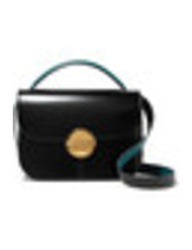 Tuk Medium Glossed Leather Shoulder Bag by Marni