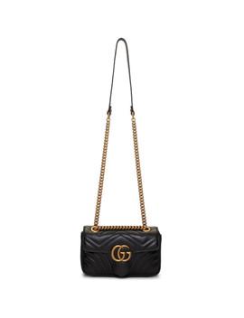 Sac Noir Mini Gg Marmont 2.0 by Gucci