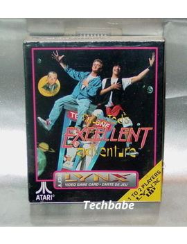 Brand New Bill And Ted's Excellent Adventure For Atari Lynx Ii 1 2 System by Ebay Seller