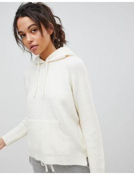 Micha Lounge Fluffy Knit Hoodie by Micha Lounge