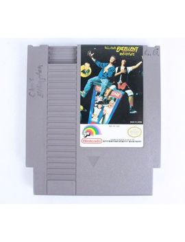 Bill & And Ted's Excellent Video Game Adventure (Nes, 1991)   Game Only by Ebay Seller