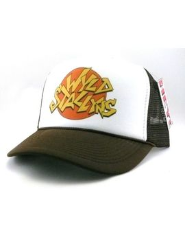 Wyld Stallyns Trucker Hat Mesh Hat Snapback Hat Brown Bill And Ted Movie Hat by Trucker Hat