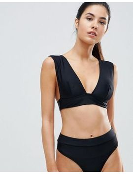 Missguided Mix & Match Super Plunge Bikini Top by Missguided