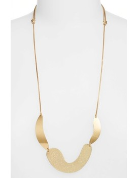 Fluid Shapes Pendant Necklace by Madewell