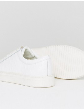 Religion Ostrich Sneakers In White by Religion