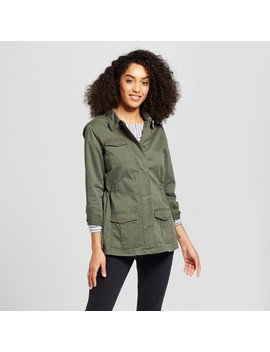 Women's Military Jacket   A New Day™ Olive by A New Day™