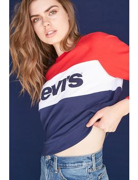 Levis Graphic Logo Sweatshirt by Forever 21