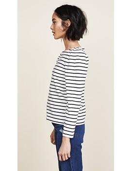 Yarn Dyed Striped Jersey Top by La Vie Rebecca Taylor