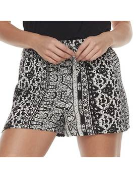 Juniors' Joe B Print Soft Shorts by Kohl's