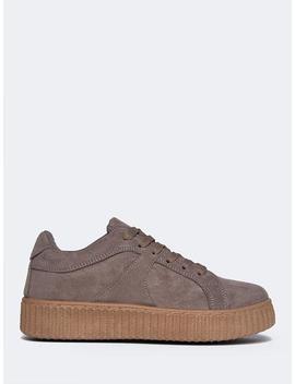 Low Platform Sneakers by Zooshoo