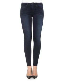 Charlie High Rise Distressed Ankle Skinny Jeans by Joe's Jeans