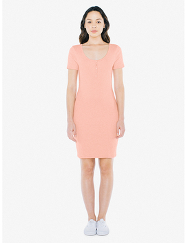 2x2 Henley Dress by American Apparel