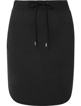 Cotton Blend Jersey Mini Skirt by James Perse