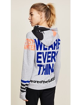 We Are Everything Pull Over Hoodie by Freecity