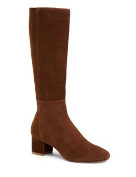 Jules Stretch Suede Boots by Aquatalia