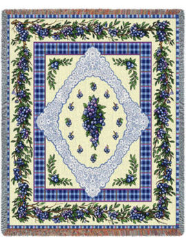 Blueberry Lace Blanket by Asstd National Brand