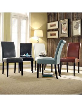 Dorian Faux Leather Upholstered Dining Chair (Set Of 2) By I Nspire Q Bold by I Nspire Q