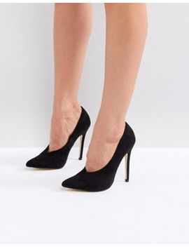 London Rebel High Vamp Mid Point Heels by Shoes