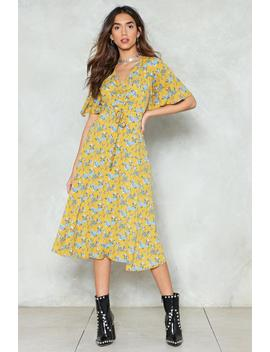 In A Ruche For Summer Floral Dress by Nasty Gal