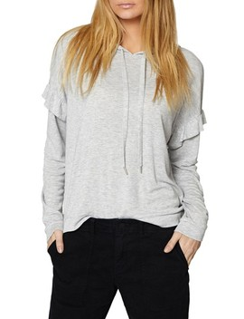 Audra Ruffle Hoodie by Sanctuary