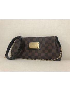 Authentic Louis Vuitton Eva Damier Crossbody Bag Strap Chain by Louis Vuitton