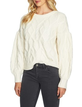 Blouson Sleeve Sweater by 1.State