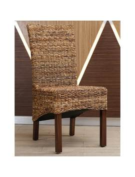International Caravan Gaby Mahogany Dining Chair by International Caravan