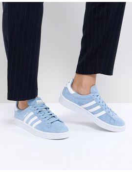 Adidas Originals Campus Sneakers In Blue by Adidas