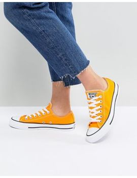 Converse Chuck Taylor All Star Ox Sneakers In Orange by Converse