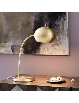 Petite Arc Metal Table Lamp by West Elm