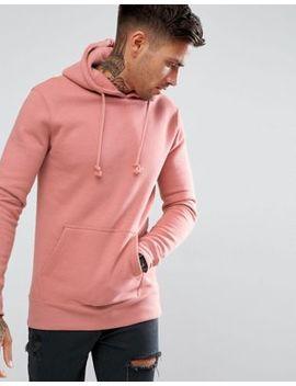 Pull&Bear Hoodie In Pink by Pull&Bear