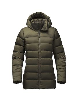 Nuptse Ridge Hooded Down Parka   Women's by The North Face
