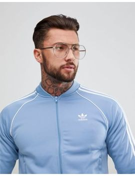 Adidas Originals Adicolor Track Jacket In Blue Cw1258 by Adidas Originals