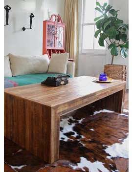 Oversized Jackson Table Modern Rustic Coffee Table Made From Reclaimed Wood And New Orleans Homes by Etsy