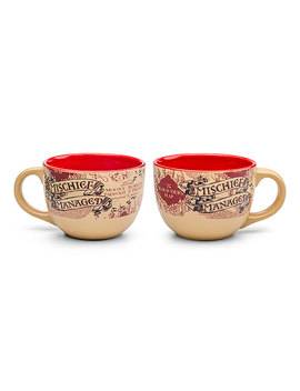 Harry Potter Mischief Managed Ceramic Soup Mug by Think Geek